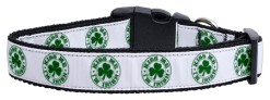 Kiss Me I'm Irish Dog Collar St Patrick's Day