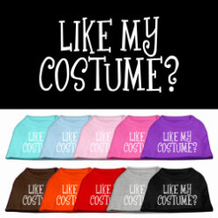 Like My Costume t-shirt sleeveless dog multi-color