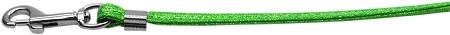 Lime Green Glitter Dog Leash