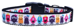 Little Monsters Dog Collar Adjustable