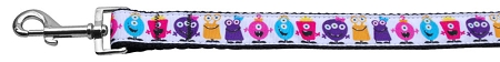 Little Monsters Dog Leash Colorful