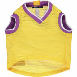 Los Angeles Lakers NBA Dog Jersey back