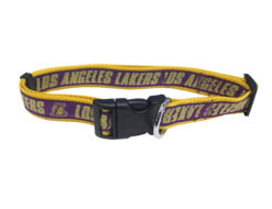 Los Angeles Lakers Nylon NBA Dog Collar