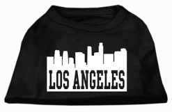 Los Angeles t-shirt sleeveless dog black