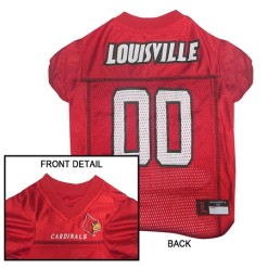 Louisville Cardinals dog jersey