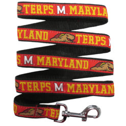 Maryland Terps Nylon Dog Leash