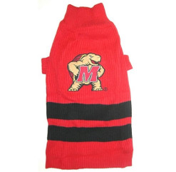 Maryland Terrapins NCAA dog sweater