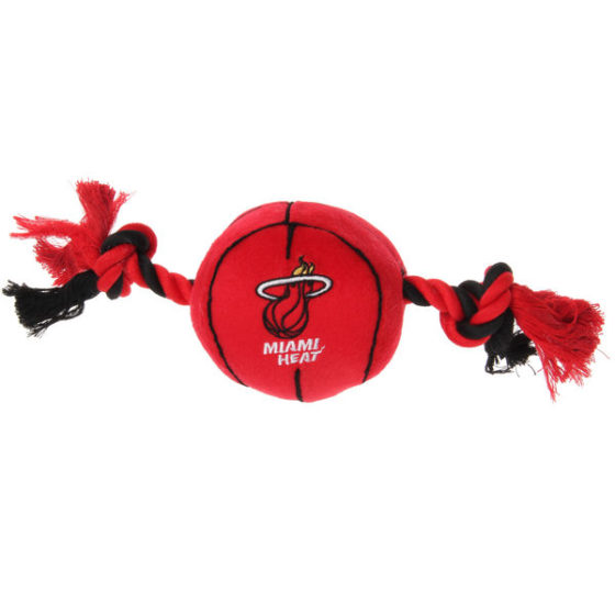 Miami Heat Plush NBA Dog Toy
