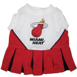 Miami Heat Cheerleader dog outfit