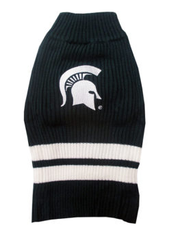 Michigan State Spartans Turtleneck Dog Sweater