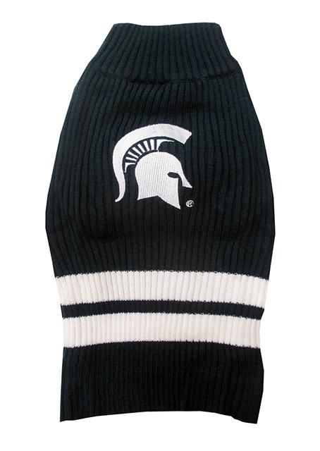 Michigan State Spartans Turtleneck Dog Sweater