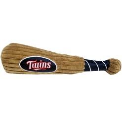 Minnesota Twins plush dog baseball bat