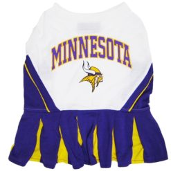 Minnesota Vikings NFL dog cheerleader dress