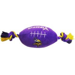 Minnesota Vikings NFL plush football dog toy