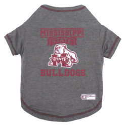 Mississippi State Bulldogs Cotton NCAA Dog TShirt