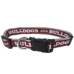Mississippi State Bulldogs NCAA Nylon Dog Collar