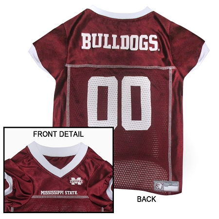Mississippi State Bulldogs NCAA dog jersey