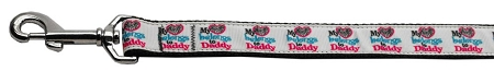 My Heart Belongs to Daddy Father's Day Dog Leash