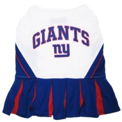 New York Giants NFL dog cheerleader dress
