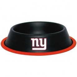 New York Giants Stainless Dog Bowl
