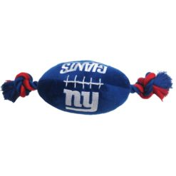 New York Giants plush football dog toy