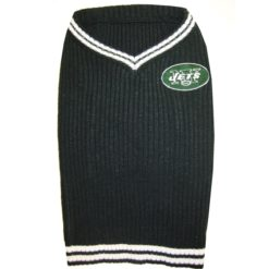 New York Jets turtleneck NFL dog sweater