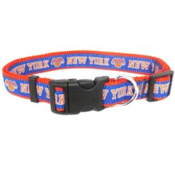 New York Knicks NBA Dog Nylon Collar