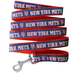 New York Mets MLB nylon dog leash