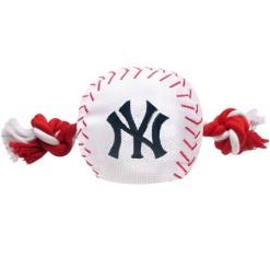 New York Yankees plush baseball dog MLB toy