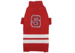 North Carolina State Wolfpack Dog Sweater