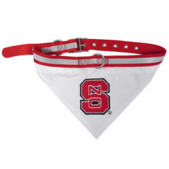 North Carolina State Wolfpack NCAA Dog Bandana Collar