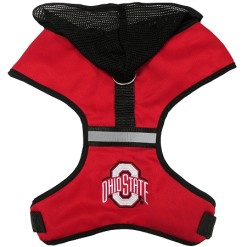 Ohio State NCAA Buckeyes mesh dog harness