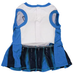 Oklahoma City Thunder NBA Dog Cheerleader Dress back