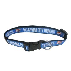 Oklahoma City Thunder NBA Dog Collar Nylon