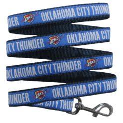 Oklahoma City Thunder NBA Dog Leash Nylon