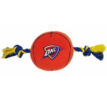 Oklahoma City Thunder ball and rope