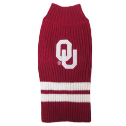 Oklahoma Sooners Pet Dog Sweater