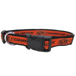 Oklahoma State Cowboys NCAA Nylon Dog Collar