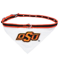 Oklahoma State Cowboys NCAA bandana and collar