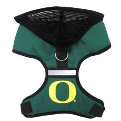 Oregon Ducks Mesh Dog Harness NCAA