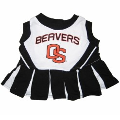 Oregon State Beavers NCAA dog cheerleader dress
