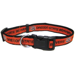 Oregon State Beavers NCAA nylon dog collar