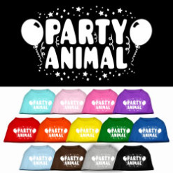 Party Animal Screenprint t-shirt sleeveless dog multi-colors