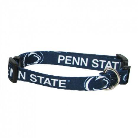 Penn State Nittany Lions Adjustable Dog Collar