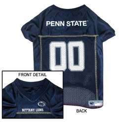 Penn State Nittany Lions NCAA dog jersey