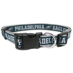 Philadelphia Eagles Nylon NFL Dog Collar