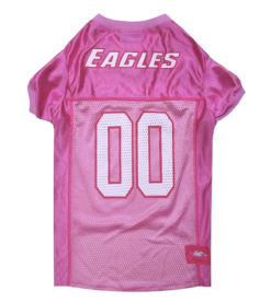 Philadelphia Eagles Pink NFL Dog Jersey