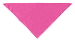Pink plain dog bandana
