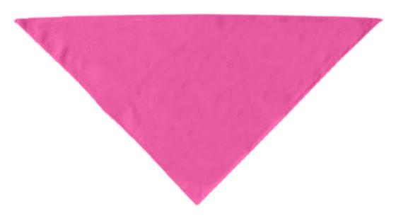 Pink plain dog bandana