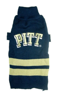 Pittsburgh Panthers NCAA Turtleneck Dog Sweater